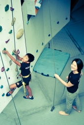 Remember I mentioned Holistic education, we are eduKate, and there is a reason for that. We brought all our kids out to teach them wall climbing, and learn science and math the fun way. Punggol tutor Yuet Ling takes care of me... all the time. edukate PSLE student attends Holiday Programme for Holistic Development, Empowerment and Team Building