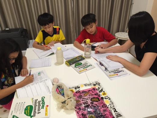 English Tuition eduKateSG Mee Toh Primary Students at Punggol Prive Condo