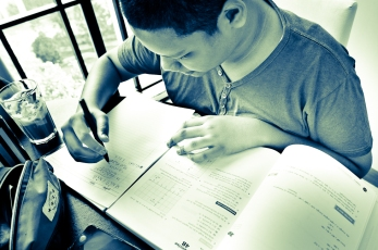 eduKate Singapore Tampines Tuition Centre Student doing Secondary Express Math