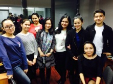 eduKate had an exchange at Almaty, Kazakhstan with students there learning English.
