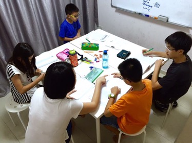 Punggol Math Tuition Primary Small Group Tutor