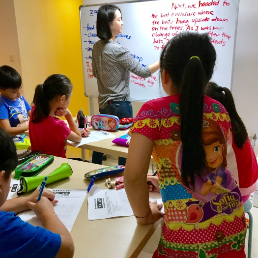 Punggol Creative Writing Pri 3 class small group class Primary English Tuition Centre