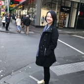 Shopping and walking around Melbourne CBD