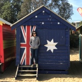 Yuet Ling at Brighton Beach, Australia