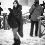 Tutor Yuet Ling at Kazakhstan. Almaty City Shymbulak Ski Resort.