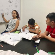 Tutors teach from scratch and works together with students during class to ensure student's understanding is well grounded