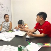 Small Group Maths Tuition in Punggol for Sec 1 and Sec 2 tutor Debra. Good small group tuition for students who finds it difficult to focus alone or in large tuition centres.