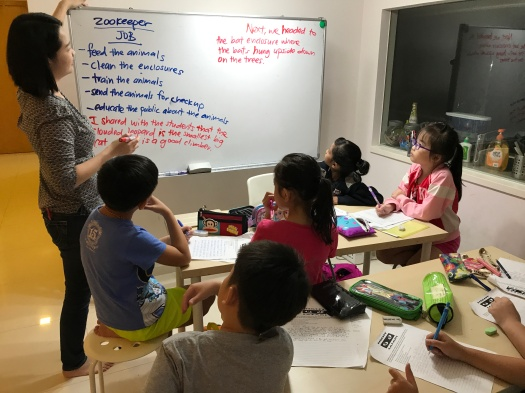 Marina Bay Tuition Centre English Creative Writing Primary Pri 1,2,3,4,5,6 PSLE MOE Syllabus Small Group Tuition with qualified tutors