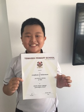 Top work from students of eduKate Singapore with achievement awards. The result makes a happy student.